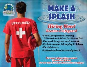 Fall Lifeguard Training Flyer