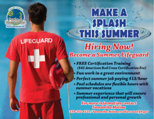 Summer Lifeguard Flyer