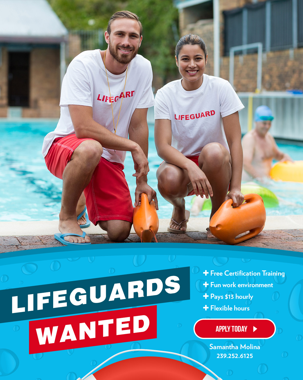Lifeguards Wanted 1 mobile